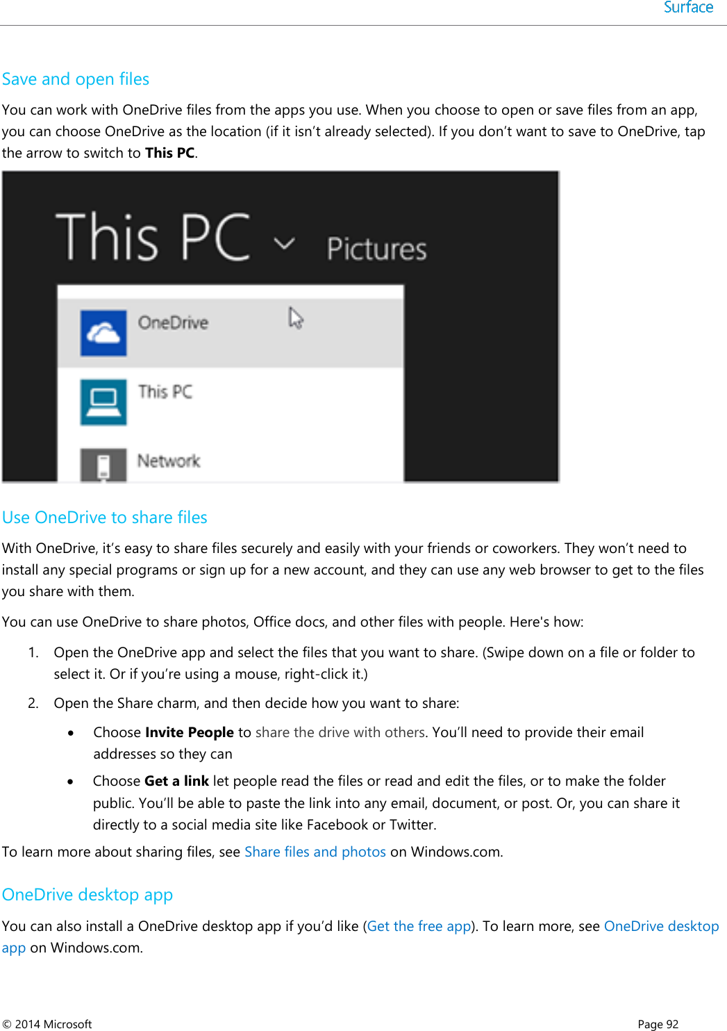 surface pro 3 user manual download