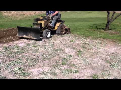 sears craftsman 5 hp chain drive rototiller owners manual