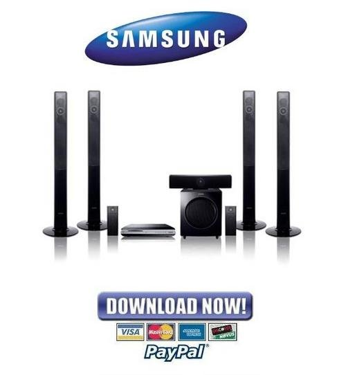 samsung blu-ray home theater system ht-bd2 manual