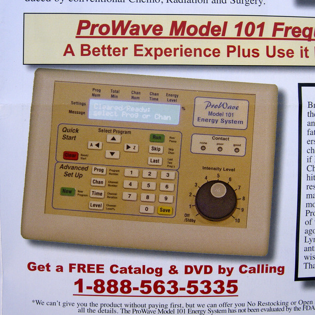 prowave model 101 energy system manual