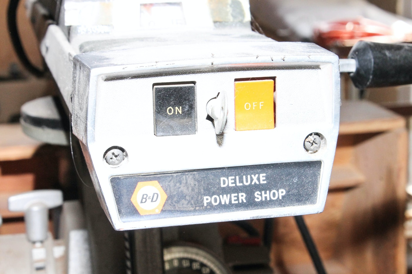 black and decker deluxe power shop model 7740 manual