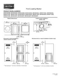 maytag centennial washer manual model mvwc565fw