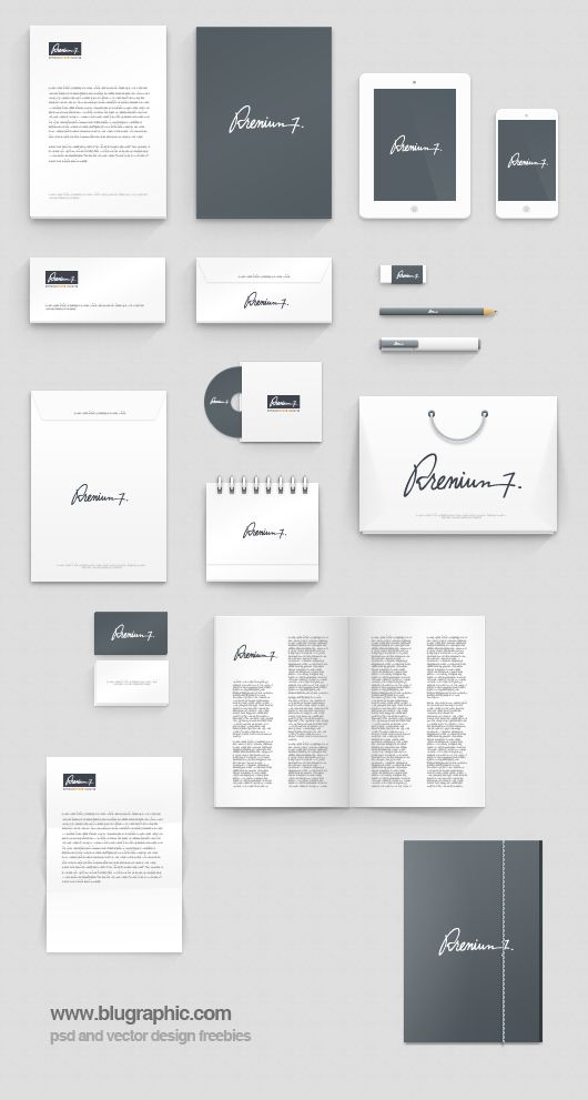corporate identity manual template free download
