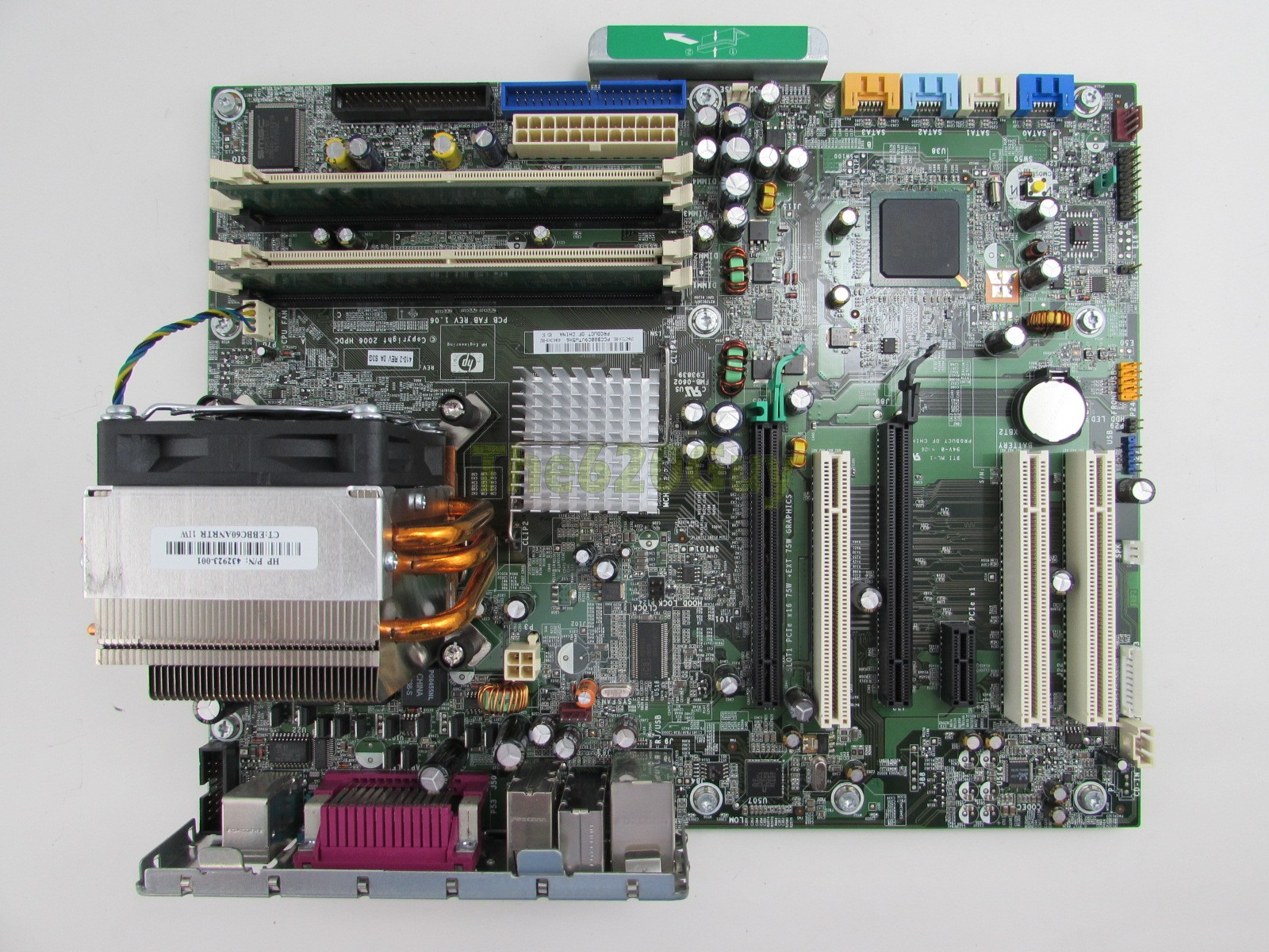 hp xw4400 workstation motherboard manual