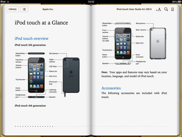 ipod touch 2g manual pdf