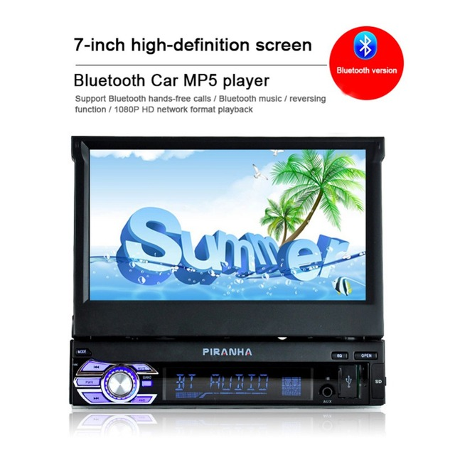 retractable screen touch screen mp5 model 9601g instruction manual